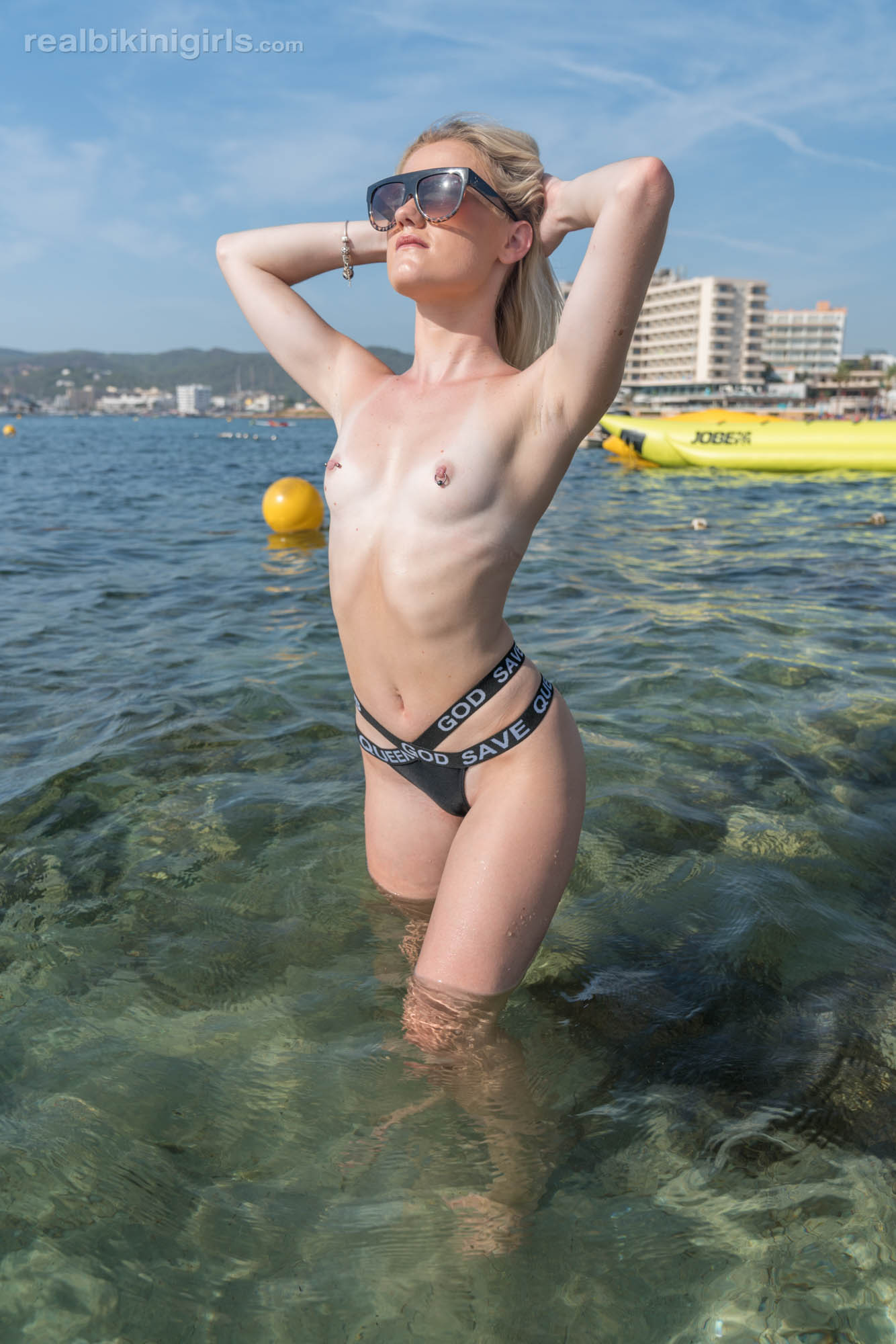 pretty amateur modelling shots by georgous ibiza female  #3