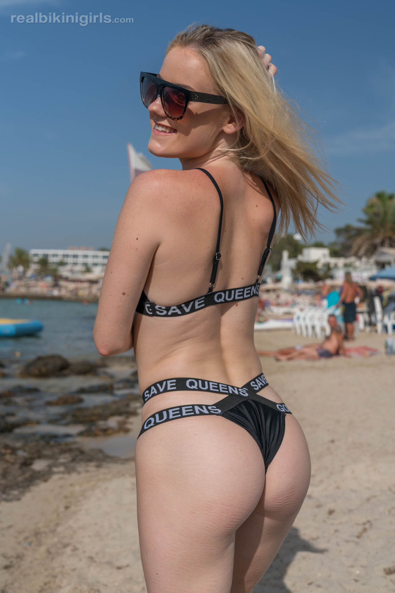 pretty amateur modelling shots by georgous ibiza female  #11