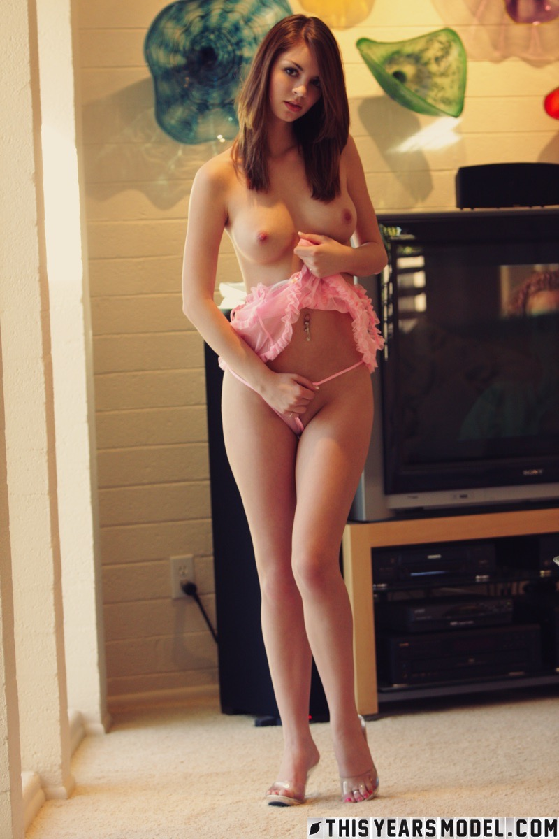 aspen marten is my pink baby doll for today #8