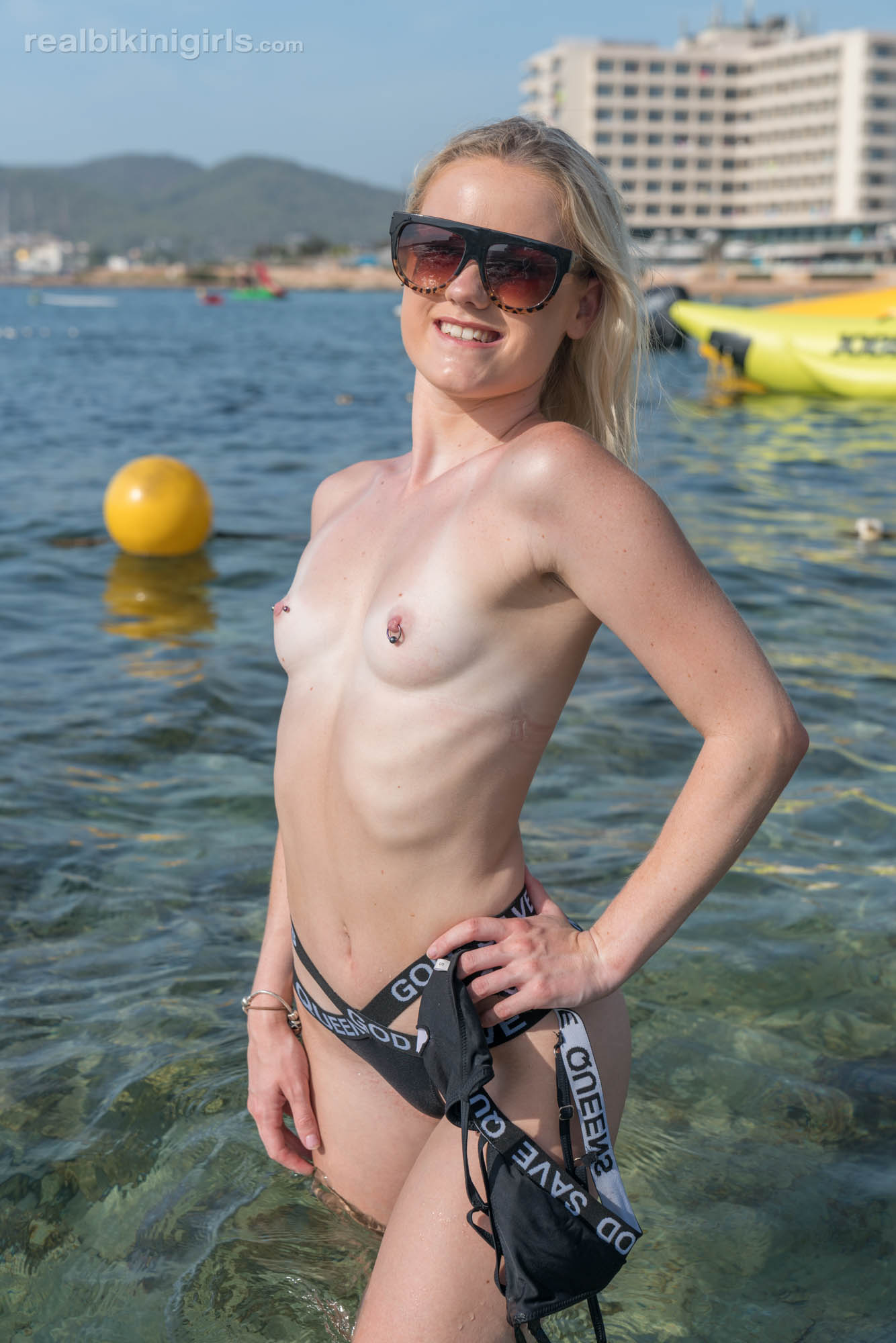 pretty amateur modelling shots by georgous ibiza female  #10