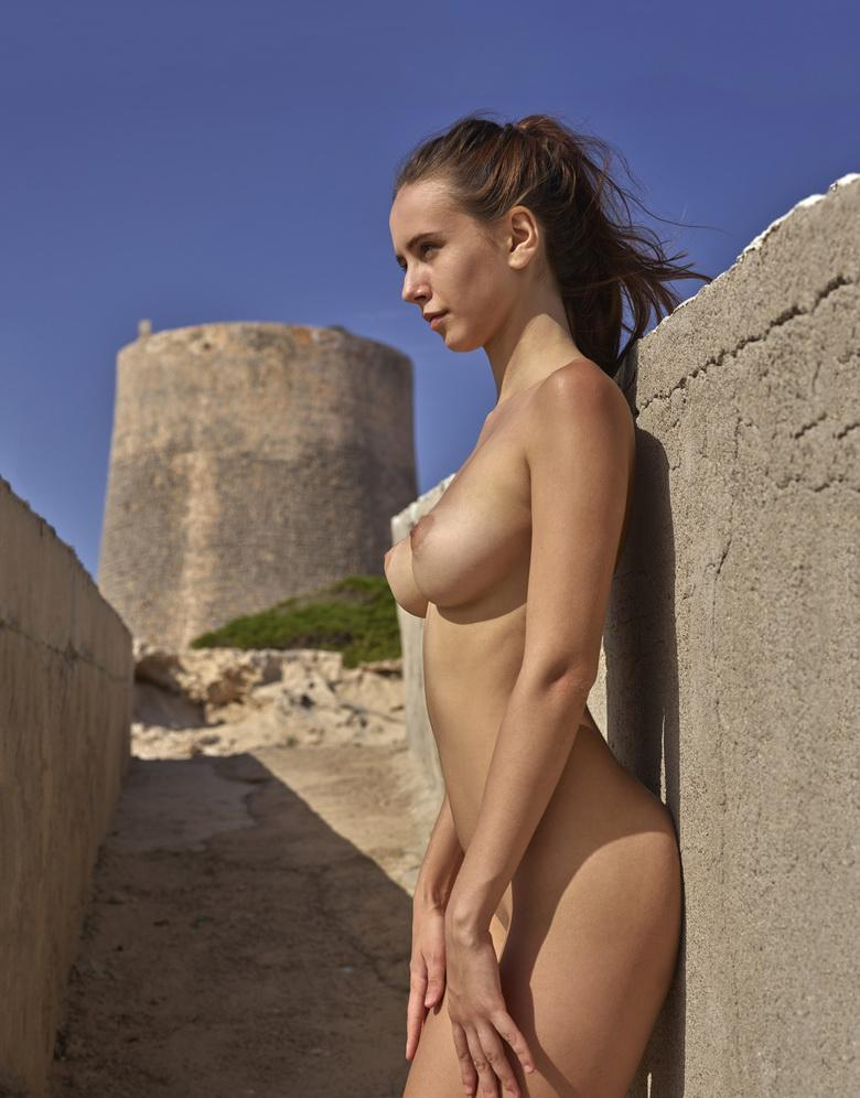 busty european girl enjoys a nudist trip to ibiza picture