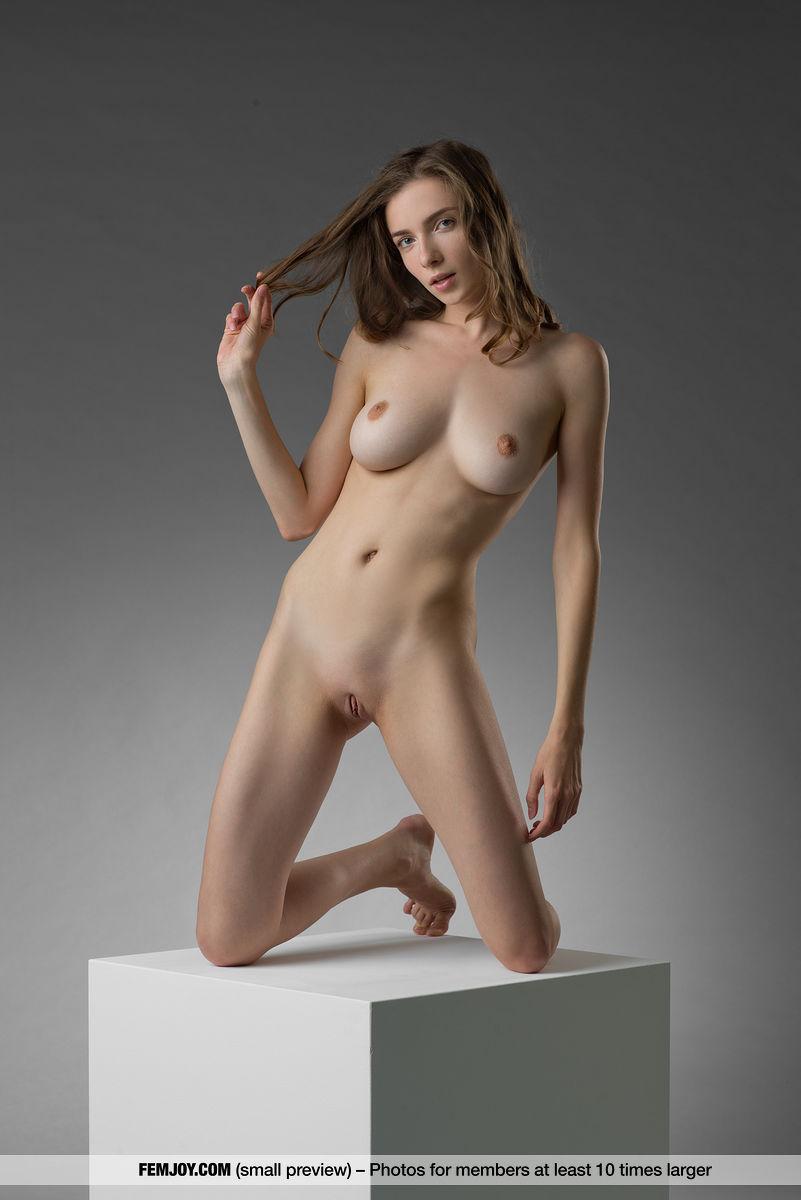marvelous tall chick from femjoy doing some great budhistic yoga nude poses #10