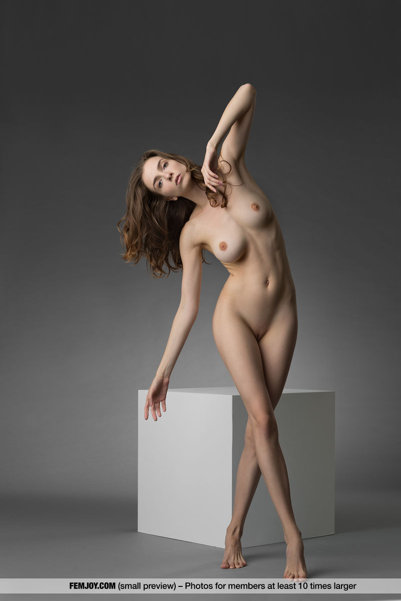 marvelous tall chick from femjoy doing some great budhistic yoga nude poses #1