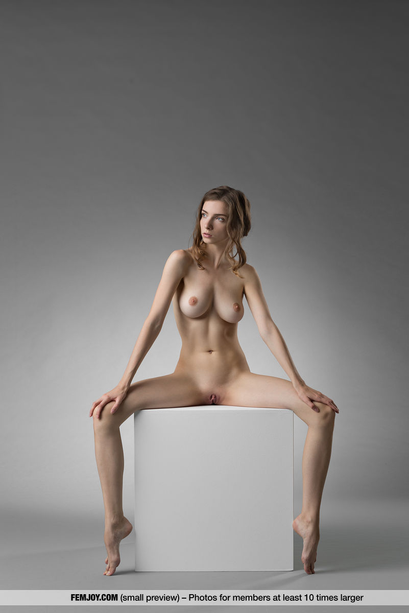 marvelous tall chick from femjoy doing some great budhistic yoga nude poses #5