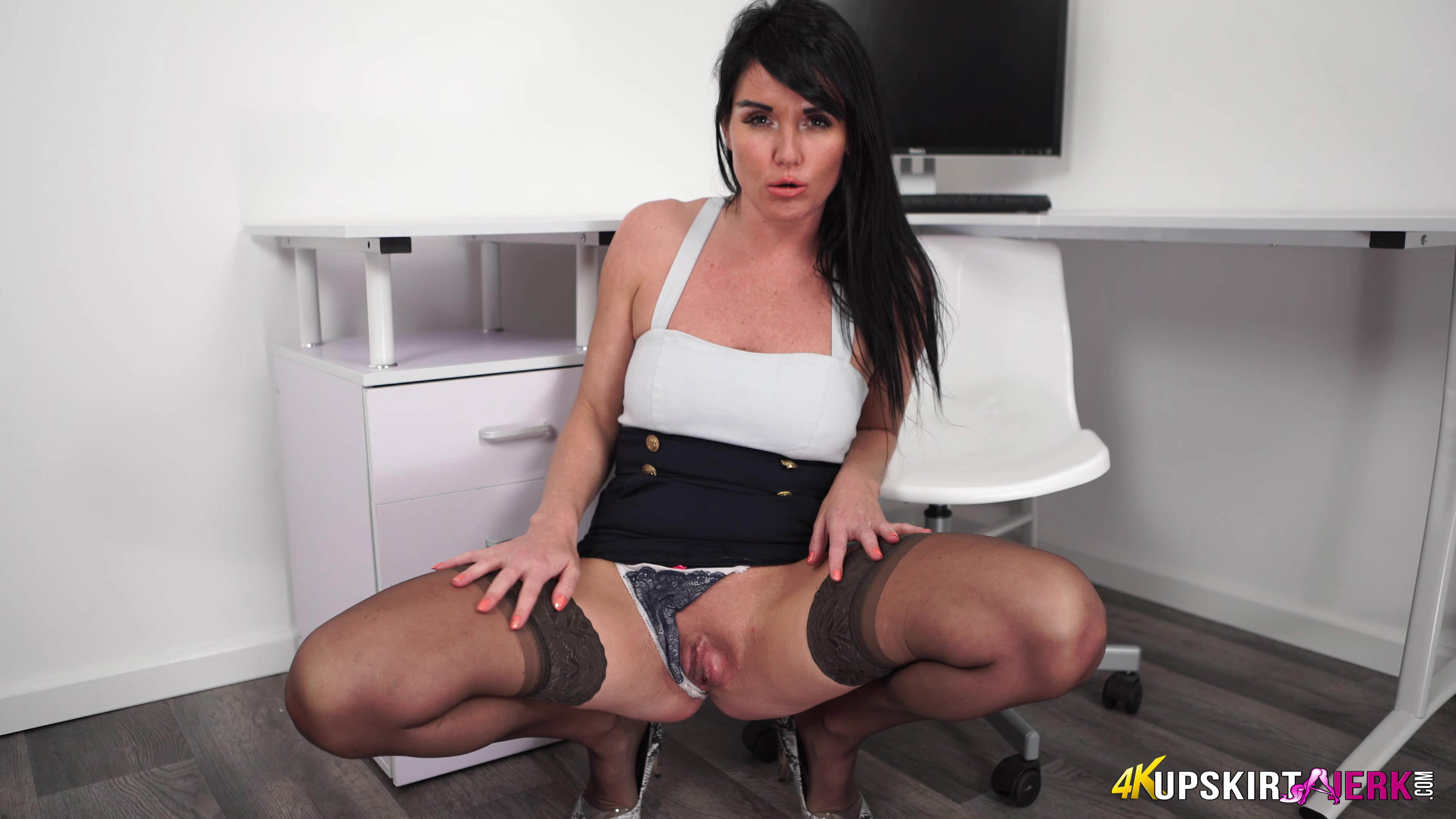 delicious upskirt perversions with prudish british girl  #5