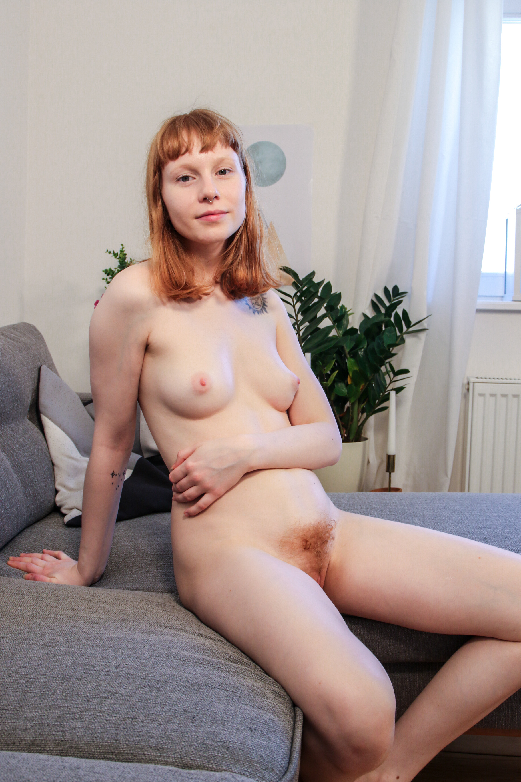 sweet redhead gir bonnie came a long way from l from australia flashing her unshaved triangle #7