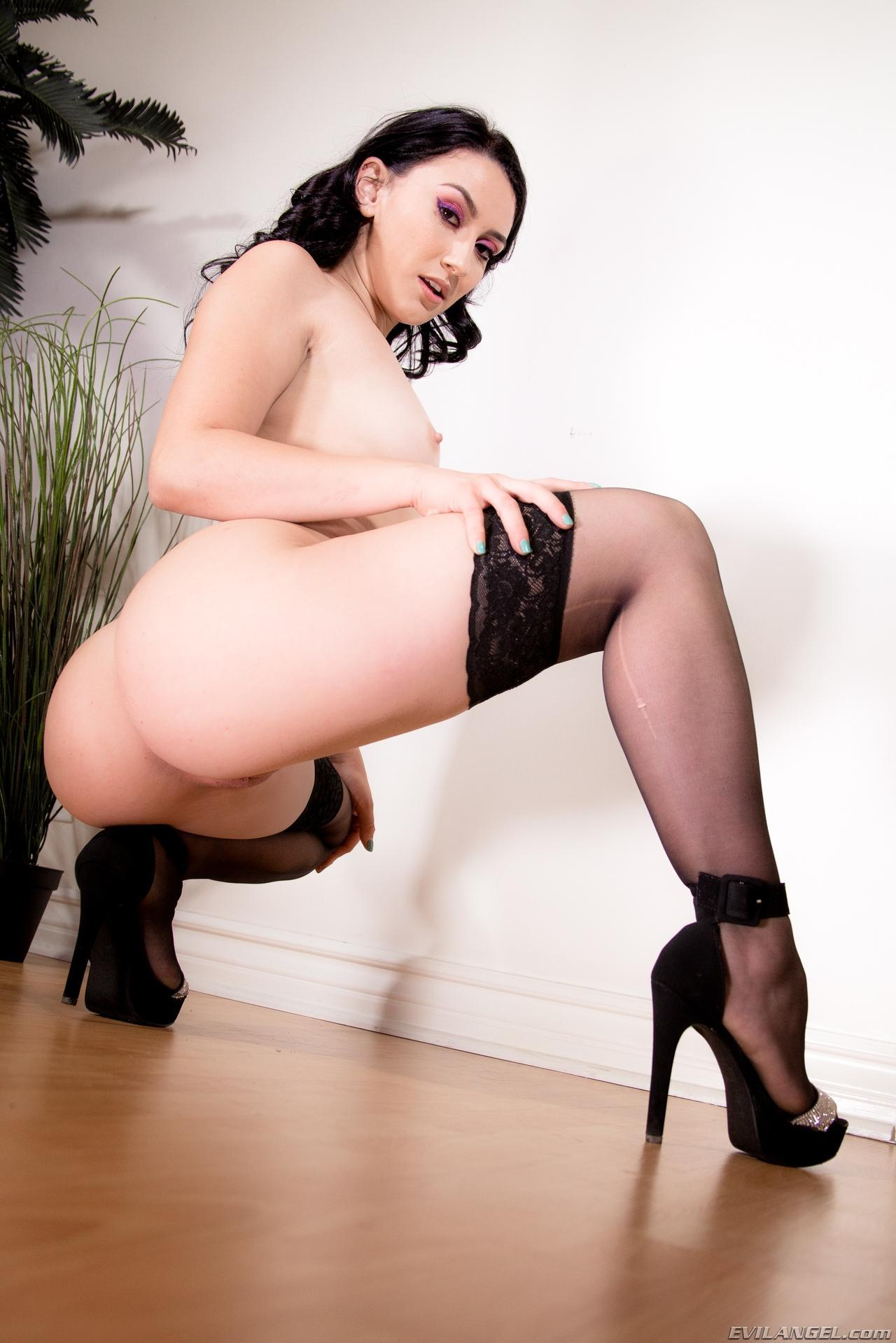 naughty pornstar muse mandy muse rockin it in sexy goth outfit #10