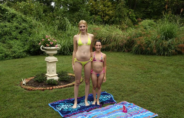 little girl and big girl picture 2