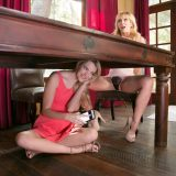 teen cutie under the table picture 6