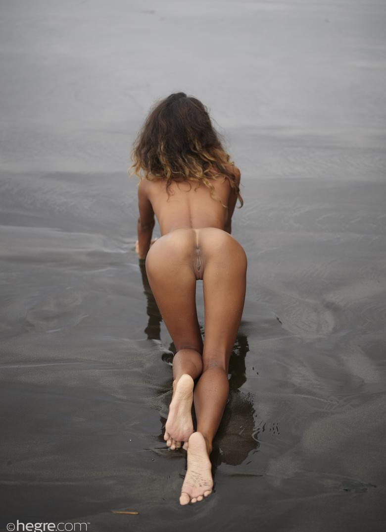 Putri at Black Beach Bali in 18 photos from Hegre-Art picture 15