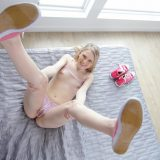 beautiful petite girl Lily from Tiny4k nearly gets her mini pussy destroyed picture 7