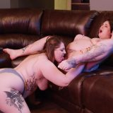 two fat chunky cuties licking and facesitting hard picture 11