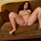 love hungry redhead opens her legs for joy picture 14