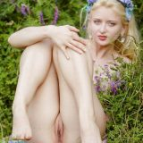 little russian girl enjoys nudity in nature picture 14