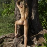 russian athletic girl nude in the forrest from hegre fantasies picture 14