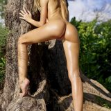 russian athletic girl nude in the forrest from hegre fantasies picture 13