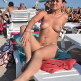 awesome next door cutie enjoying a nudist day on the beach picture 6