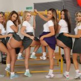hog female lingerie team winning sexyness contest picture 5