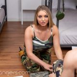 veterans day at camp horny with Kayley Gunner picture 7