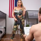 veterans day at camp horny with Kayley Gunner picture 15