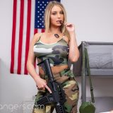 veterans day at camp horny with Kayley Gunner picture 14