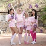 cheerleader action Whitney Wright, Kendra Spade, Kenzie Reeves, picture 6