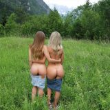 two missbehaving cuties from the countryside picture 9