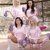 cheerleader action Whitney Wright, Kendra Spade, Kenzie Reeves, picture 7