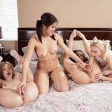 cheerleader action Whitney Wright, Kendra Spade, Kenzie Reeves, picture 10