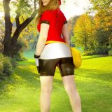 naked pokemon cosplay girl miette picture 3