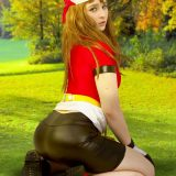 naked pokemon cosplay girl miette picture 6