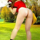 naked pokemon cosplay girl miette picture 10