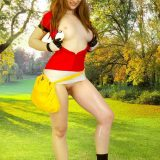 naked pokemon cosplay girl miette picture 9